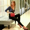 กระเป๋า LYN Mini Handbag สีแดง ราคา 1,390 บาท Free ems