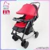 รถเข็น Farlin baby plus ปรับโยกได้ น้ำหนักเบา สีแดง