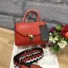 กระเป๋า Zara Crossbody Bag With Fastening Detail สีแดง ราคา 1,290 บาท Free Ems
