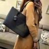กระเป๋า GUESS SAFFIANO SHOPPER BAG สีดำ กระเป๋าสะพายทรง Tote