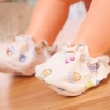 ถุงเท้ารองเท้าเด็กอ่อนผ้าฝ้าย สำหรับทารกแรกเกิด - 4 เดือน