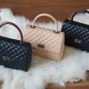 กระเป๋าแฟชั่นสไตล์ Chanel ขนาด 10 นิ้ว มีสามสี ราคา 1,190 บาท Free Ems