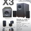 SPEAKER MICROLAB X3 2.1 [Black]