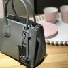 กระเป๋า Amory Leather Mini Candy Leather Bag หนังชามัวร์ สีเทา