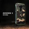 เคส Zenfone 3 ( ZE520KL ) 5.2 นิ้ว กรอบบั๊มเปอร์ กันกระแทก Defender ลายทหาร (Camouflage Series) สีเขียว