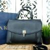 กระเป๋า ZARA City Bag With Padlock สีดำ รุ่นชนช็อป