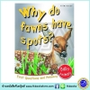 First Questions And Answers - Why do fawns have spots? หนังสือคำถามแรกและคำตอบ - ทำไมกวางน้อยจึงมีจุด