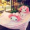 หมอนผ้าห่มตุ๊กตา My Melody