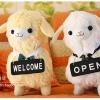 ตุ๊กตาอัลปาก้า Alpaca รุ่น คาเฟ่ Alpacafe