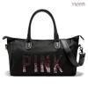 กระเป๋า VICTORIA'S SECRET Pink Travel Bag ราคา 1,290 บาท Free Ems