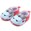 รองเท้าเด็กอ่อน ลายนกฮูก วัย 0-12 เดือน