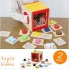 ของเล่นไม้เสริมพัฒนาการ กล่องไม้ปริศนา เล่นทายจากการสัมผัส Touch & Guess