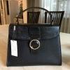 กระเป๋าถือสะพาย สีดำ CHARLES & KEITH CIRCULAR BUCKEL HANDBAG (Size L) Free Ems
