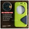 เคส Zenfone 2 Laser (5 นิ้ว) เคสฝาพับ 2 เฉดสี FULL FUNCTION มีช่องใส่บัตรและแถบแม่เหล็ก สีเขียว/ดำ