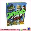 Dino Supersaurus - 2000 Stickers : หนังสือกิจกรรมและสติกเกอร์ ไดโนเสาร์ Dinosaurs