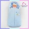 ถุงนอนเด็กแรกเกิด (สีฟ้า)