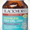 Blackmores Odourless Fish Oil 1000 mg 60 เม็ด