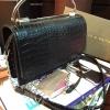 กระเป๋า Charles & Keith Push Lock Bag 2016 สีดำ