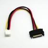 สายแปลง Power SATA Male to 4-pin Floppy FDD Female