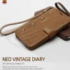 ZENUS Neo Vintage Diary Leather Cover Case for Samsung Galaxy S5