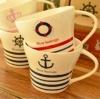แก้วเซรามิคลายกะลาสีเรือ < พร้อมส่ง >