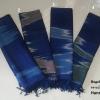 ผ้าคลุมไหล่ Premium Gift 4 สี 4 สไตล์ ผ้าคลุมไหล่ลายน้ำไหล ทอมือสี่ตะกรอย้อมสีธรรมชาติ