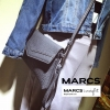 กระเป๋า MARCS ENVELOPE CLUTH BAG สีเทา ราคา 990 บาท Free Ems