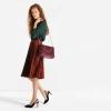 กระเป๋า CHARLES & KEITH FURRY TOTE สีแดง ราคา 1,490 บาท Free Ems