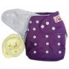 กางเกงผ้าอ้อมกันน้ำ+แผ่นซับไมโครฯหนา3ชั้น Size 3-16 kg.-Purple