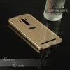เคส Zenfone Selfie (ZD551KL) l เคสฝาหลัง + Bumper ขอบกันกระแทก สีทอง