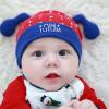 HT424••หมวกเด็ก•• / หมวกบีนนี่-สุนัข (สีแดง)