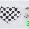 ผ้าซับน้ำลายสามเหลี่ยม ผ้ากันเปื้อนเด็ก [ผืนเล็ก] / Kitten