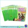 Animal Planet Sticker Fun 10 Books Collection เซตหนังสือความรู้ สติกเกอร์ โลกของสัตว์ต่างๆ