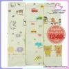 ผ้าสาลูญี่ปุ่น รังผึ้ง 8 ชั้น cotton 100% Size 30x60 นิ้ว แพ็ค 6 ผืน [คละ 3 ลาย] ราคา 1249 บาท