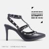 รองเท้าส้นสูงไซส์ใหญ่ 40-43 EU Valentino Metal Strappy Pointed Toe รุ่น CH0132
