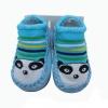 ถุงเท้ารองเท้า มีกันลื่น เนื้อผ้านุ่มนิ่ม ลายหมีแพนด้า สำหรับเด็กวัย 6-12m/12-18m