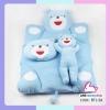 ที่นอนเด็กแรกเกิดรูปน้องหมี (สีฟ้า)