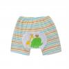 กางเกงก้นบานเด็กเล็ก ขาสั้น เป้าขยาย ลายช้าง Size 80/90/100 สำหรับเด็ก 0-3 ปี