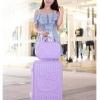 กระเป๋าเดินทางล้อลาก Kitty 3 ขนาด Purple
