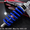 Shock YSS ME 302-250T For MSX125 สปิงสีน้ำเงิน