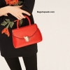 กระเป๋า ZARA CROSSBADY BAG WITH FASTENING DETAIL สีแดง ราคา 1,290 บาท Free Ems