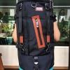 กระเป๋าเป้ WitzMan Nylon Travel Backpack Waterproof สีดำ