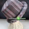 หมวกผ้าฝ้าย ผ้าจอมทอง หมวกขอบม้วน หมวกทรงชาลี