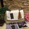 กระเป๋า ZARA Multicolor City Bag With Pendant Detail 2016 ราคา 1,390 บาท Free Ems