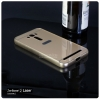 เคส Zenfone 2 Laser (5.0 นิ้ว) l เคสฝาหลัง + Bumper ขอบกันกระแทก สีทอง