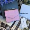 กระเป๋าสตางค์ใบสั้น CHARLES& KEITH MINI ENVELLOPE WALLET สีชมพู ราคา 990 บาท