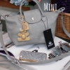 กระเป๋า KEEP longchamp Duo Sister Mini - Light grey