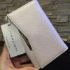 กระเป๋าเงิน รุ่นใหม่ New Arrival! Charles&Keith SMALL WALLET กระเป๋าสตางค์สั้นพับ3ตอนรุ่นใหม่ชนช็อป มีช่องใส่รูป ใส่บัตร ใส่เหรียญ และช่องใส่ธนบัตรแยก2ช่อง เหมือนกระเป๋าสตางค์ใบยาว - สีขาวมุก