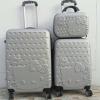 กระเป๋าเดินทางล้อลาก Kitty พร้อมส่ง 3 ขนาด Silver