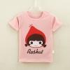 เสื้อยืดเด็กเล็ก Redhat มีกระดุมข้างคอ Size 0-1y/1-2y/2-3y สำหรับเด็กวัย 0-3 ปี